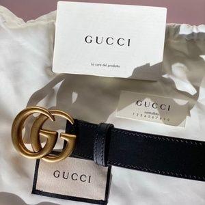 Gucci women's belt black